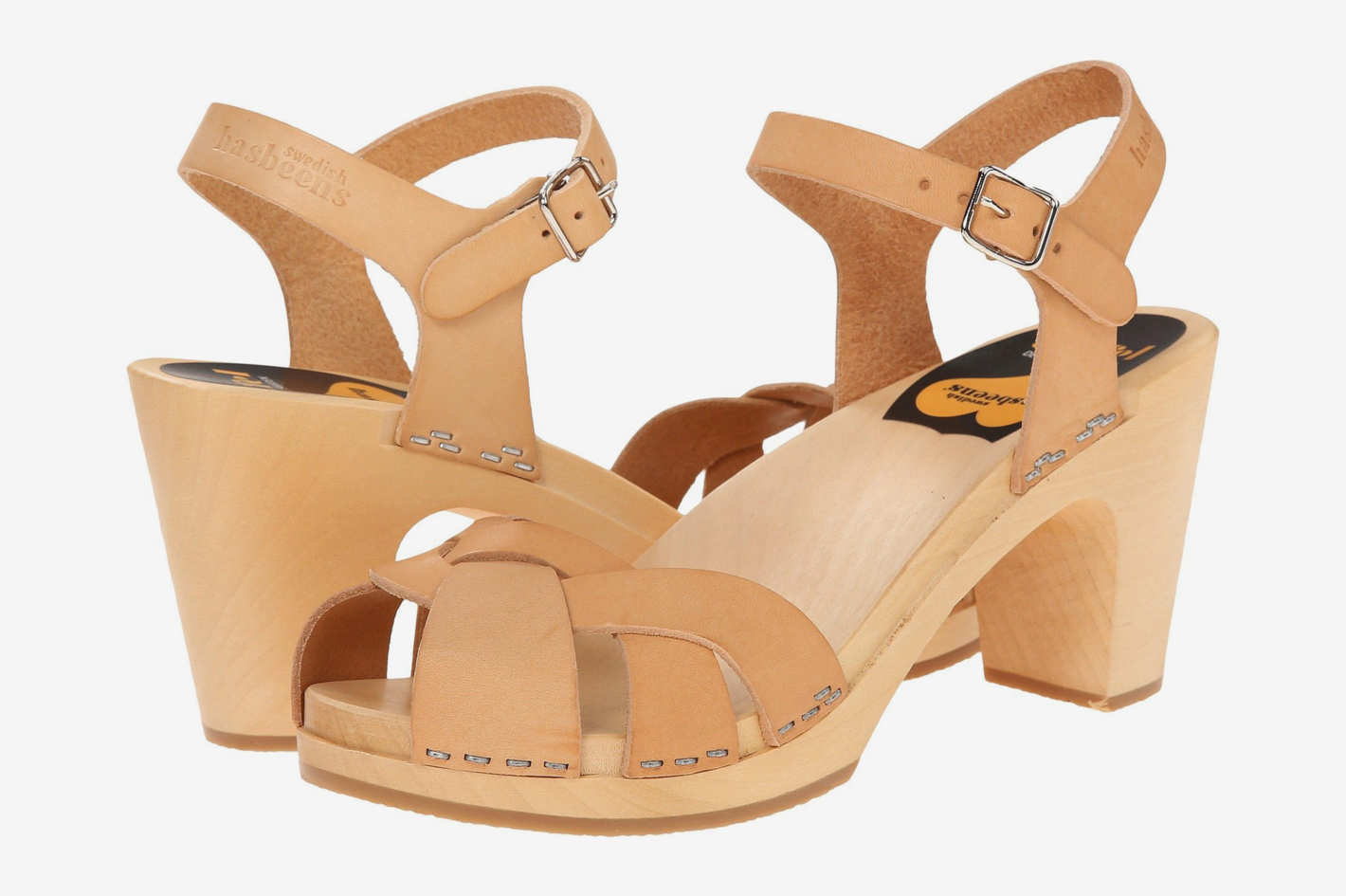 Swedish Hasbeens Kringlan Sandals