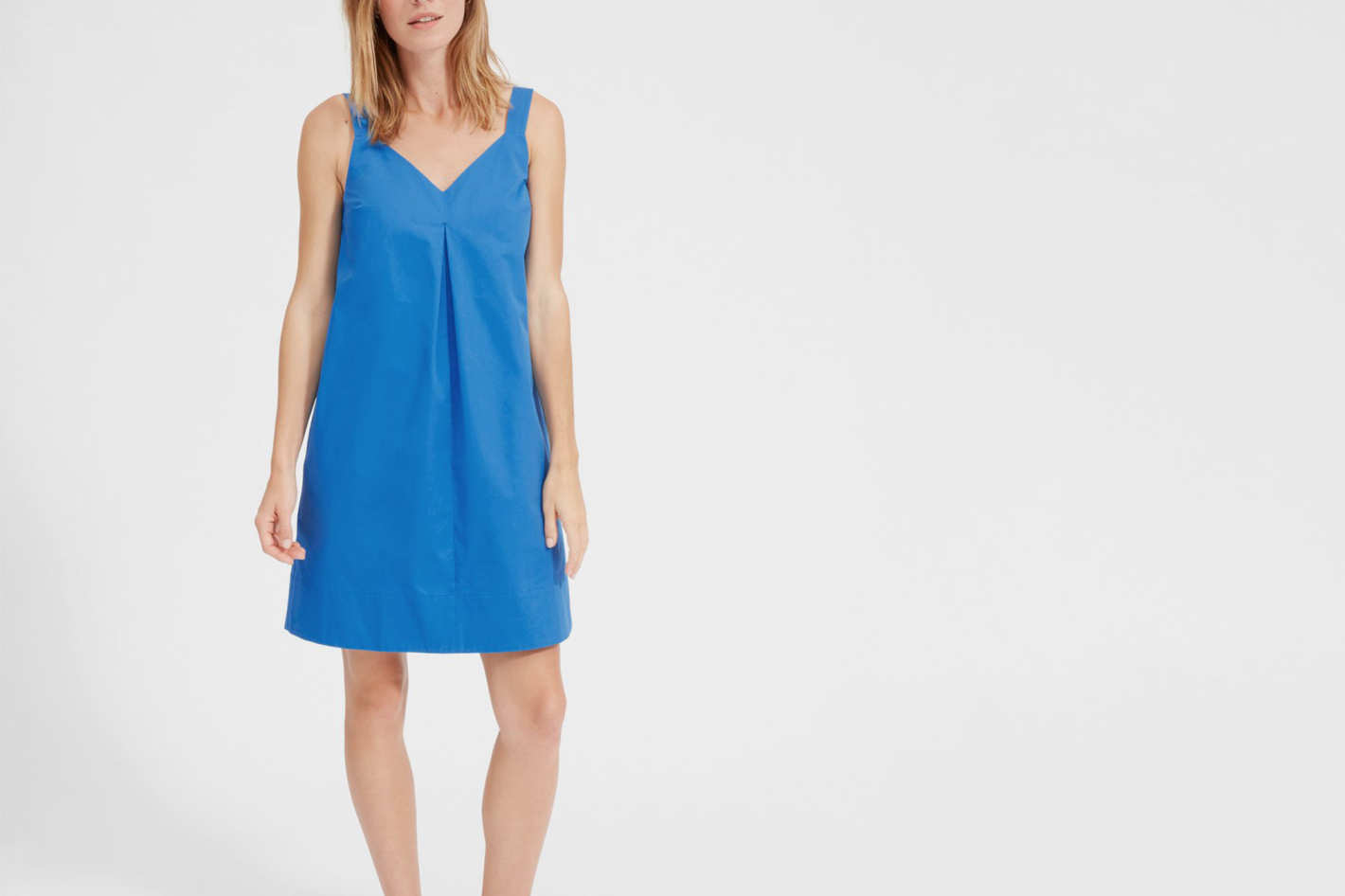 Everlane Clean Cotton A-Line Dress