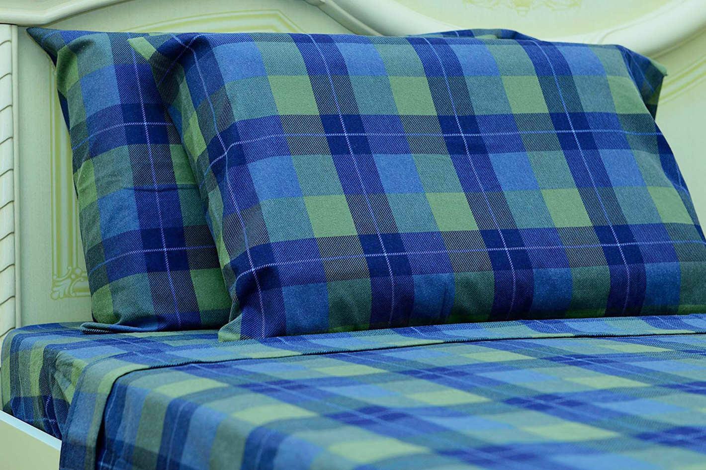 Goza Cotton 190 Gram Heavyweight Flannel Sheet Set (Queen)