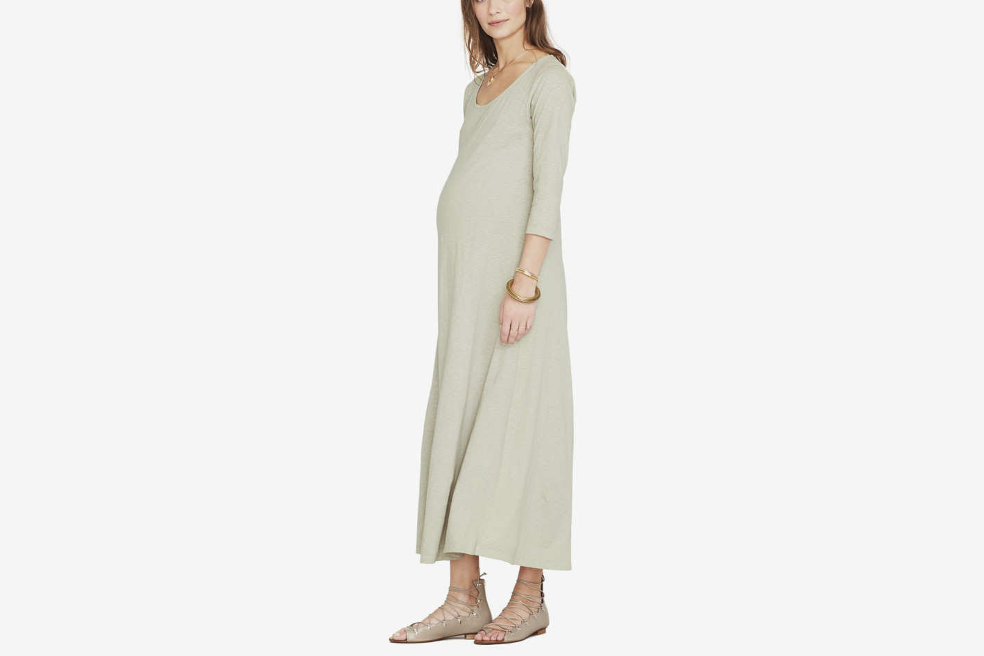 Hatch Cotton Maxi Dress