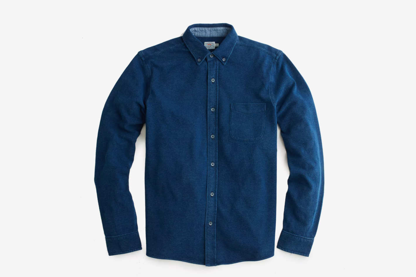 Faherty Brand Indigo Knit Pacific Shirt