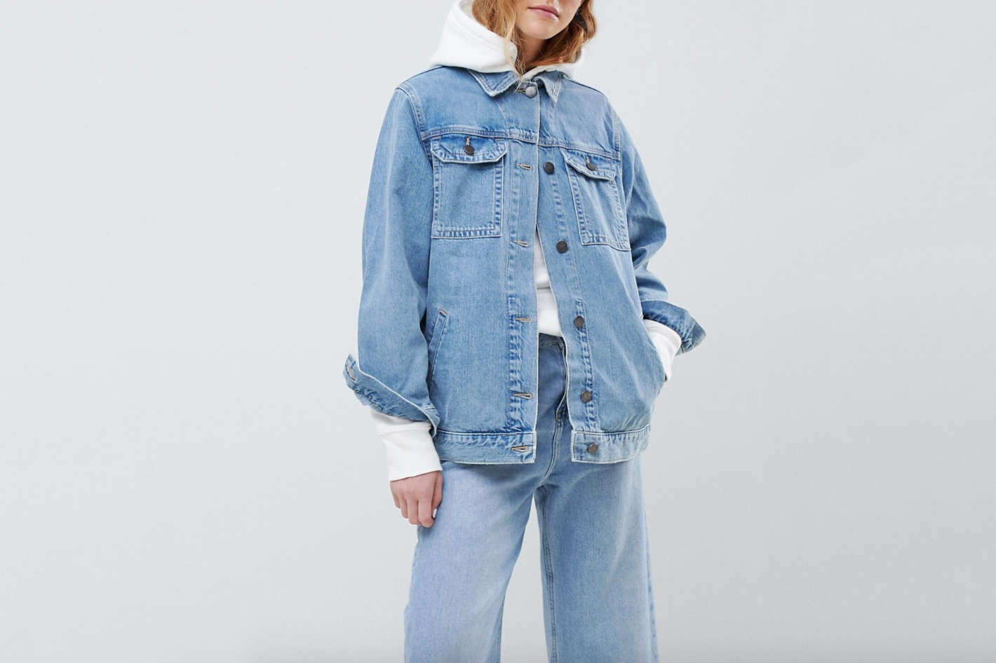 ASOS DESIGN Denim Girlfriend Jacket