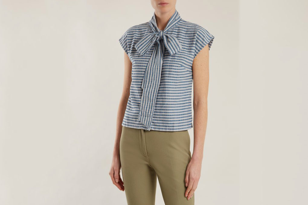 Ace & Jig Page Striped Cotton Top