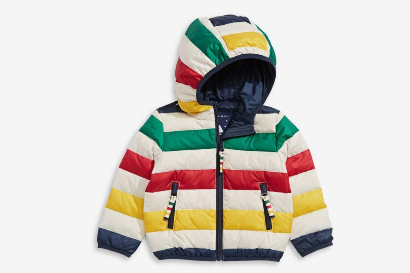 Hudson's Bay Company Kid's Colorblock Puffer Jacket