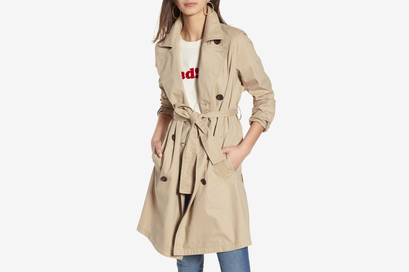 Madewell Abroad Trench Coat