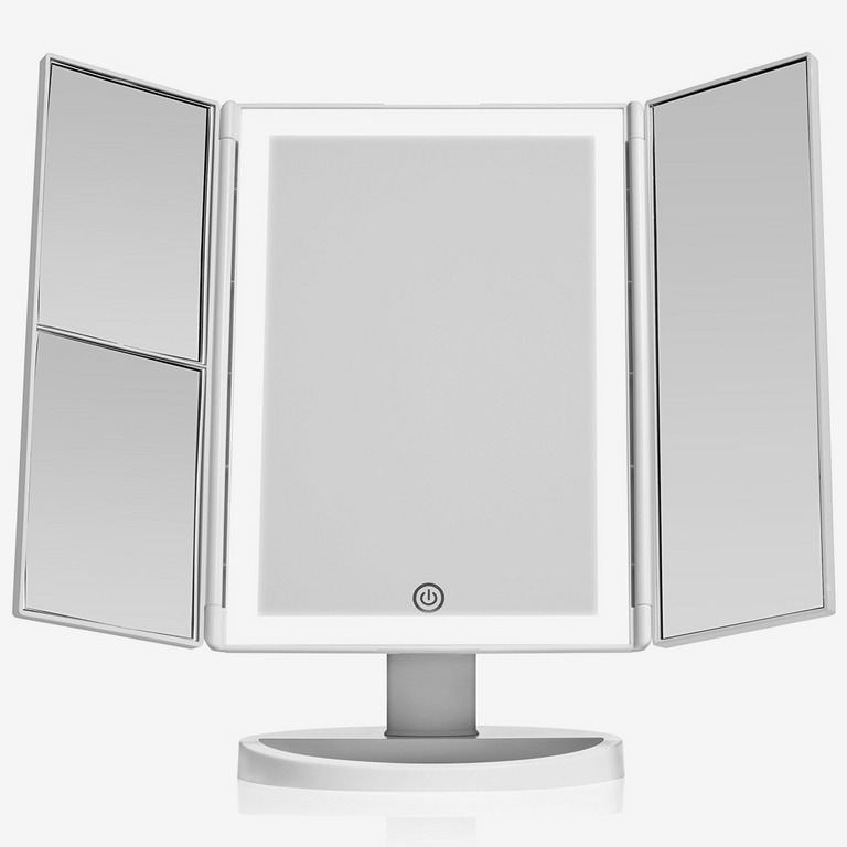 BeautyWorks Makeup Vanity Mirror With Touch Sensor