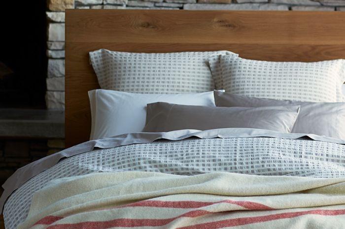 Striped Wool Blanket Throw