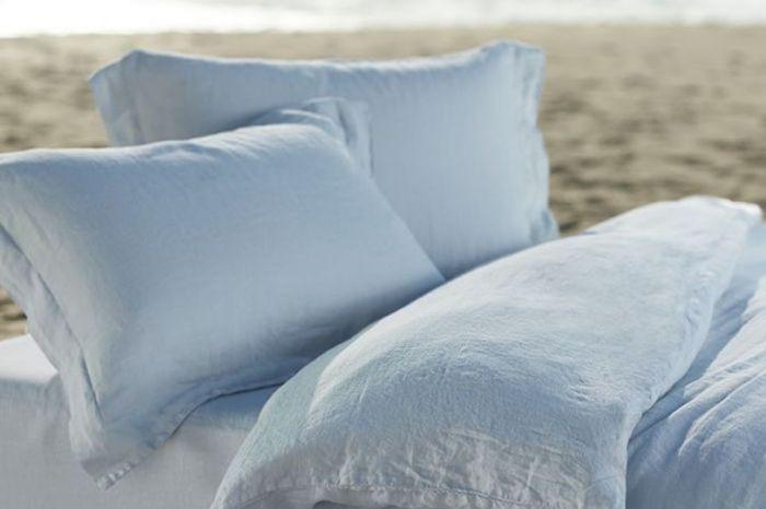Relaxed Linen Twin Sheet Set