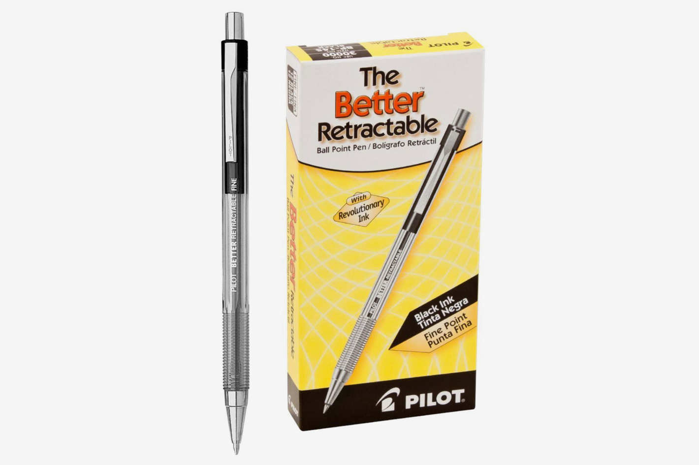 Pilot Better Black Ball Point Pen