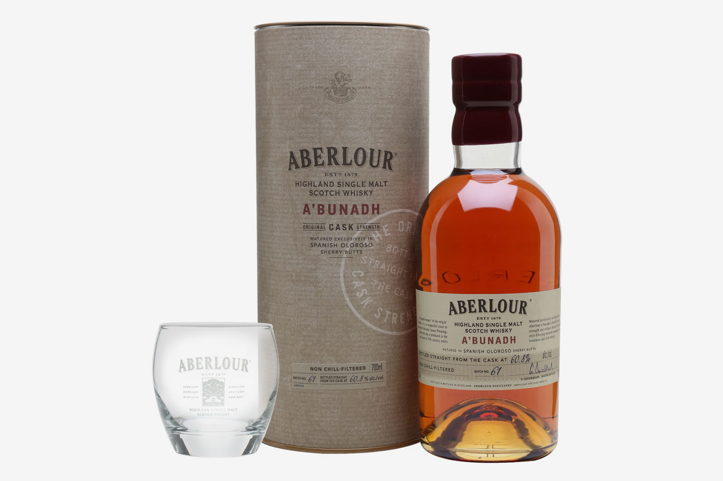 Aberlour A'Bunadh Speyside Single Malt Scotch Whisky