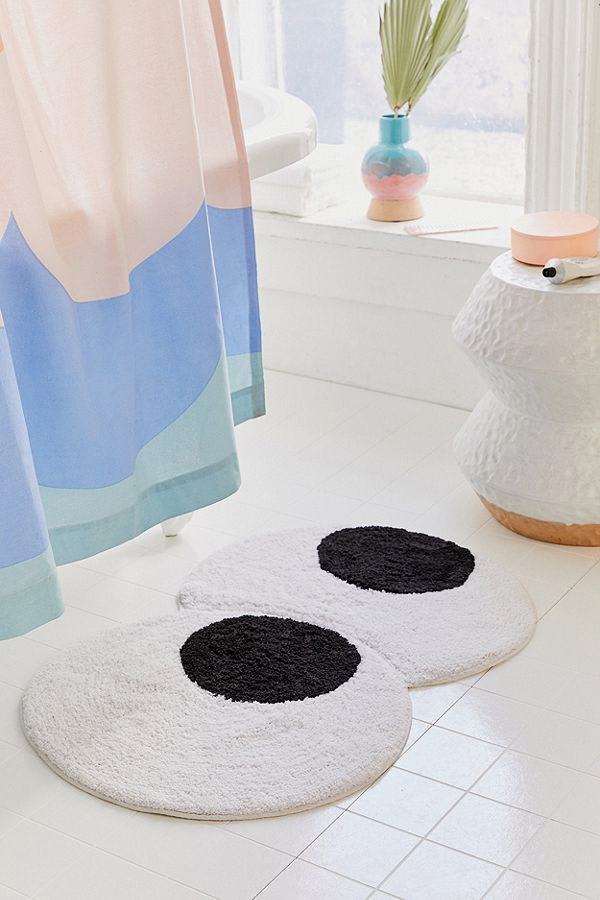 Googly Eyes Bath Mat