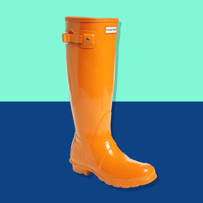fb386a4d262 These Tall Hunter Rain Boots in  Gen-Z Yellow  Are Just  89