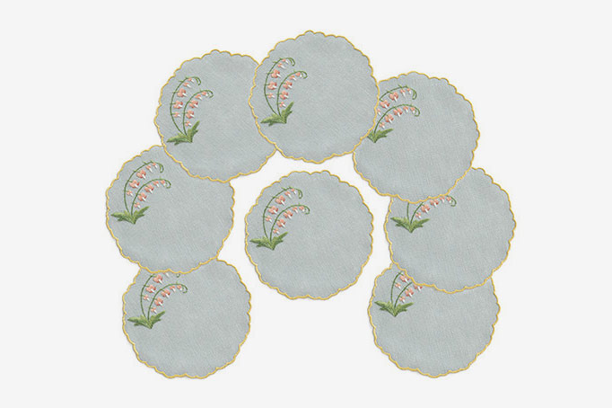 Julia B. Venezia Ceil Cocktail Napkins