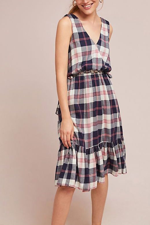 Isabella Sinclair Dickens Plaid Dress