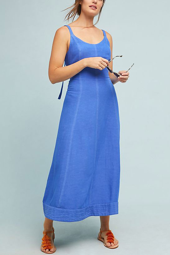 Maeve Elseby Lace-Up Dress