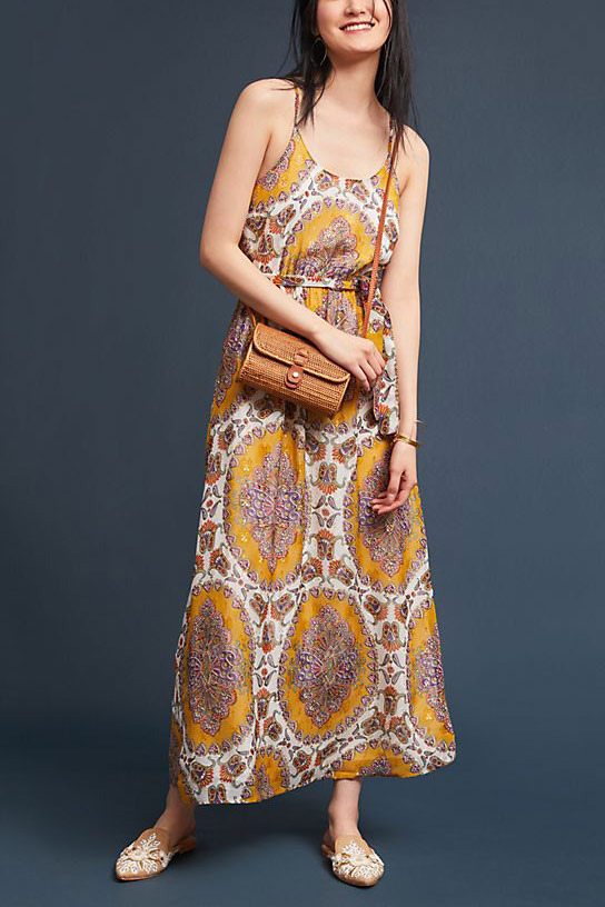 Akemi + Kim Medallion Maxi Dress