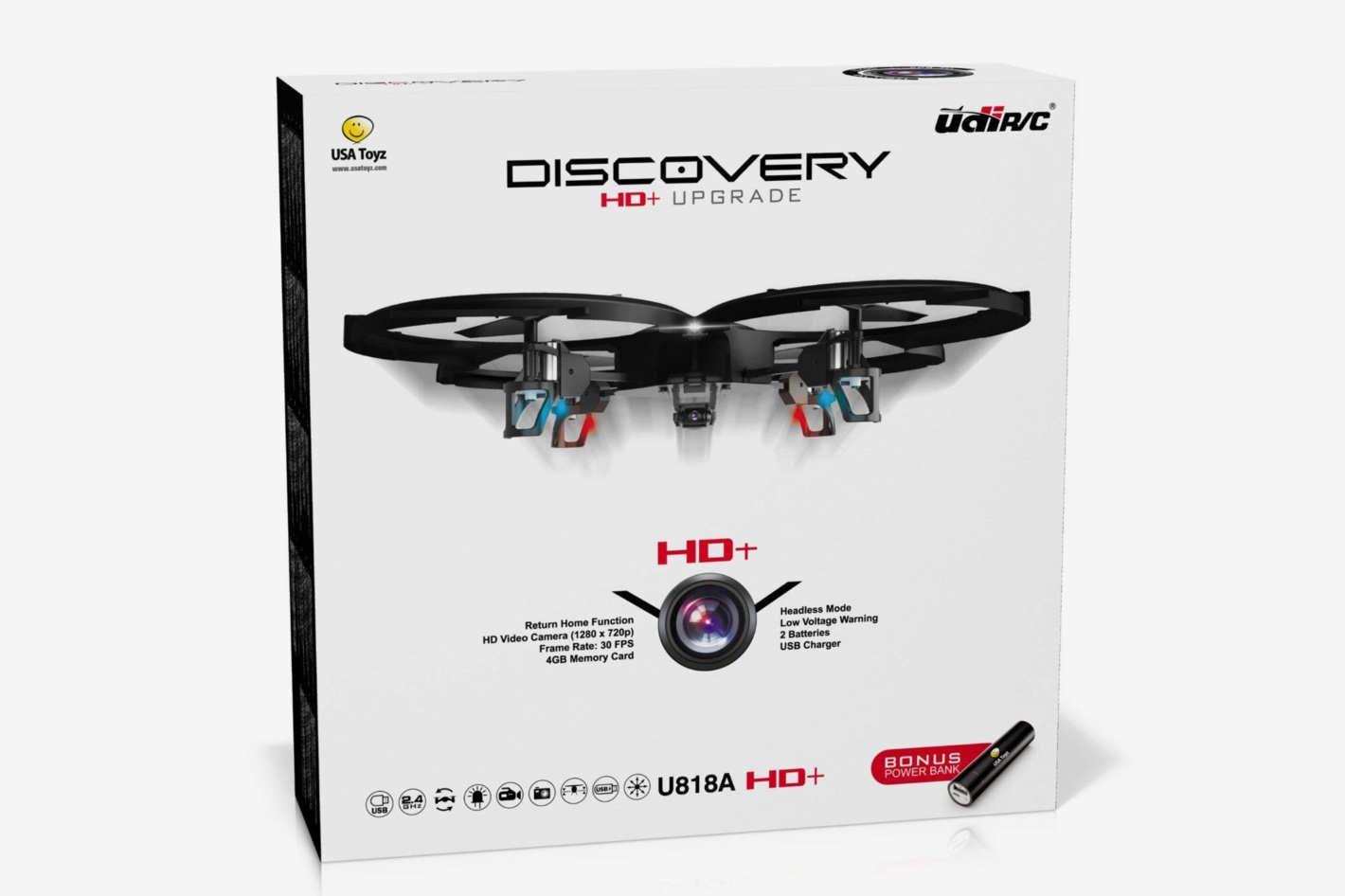 """Force1 Drones Camera – """"UDI U818A Discovery"""" Camera Drone"""