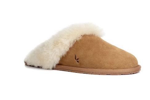 Koolaburra by UGG Milo Genuine Dyed Sheepskin Fur Lined & Trim Slipper