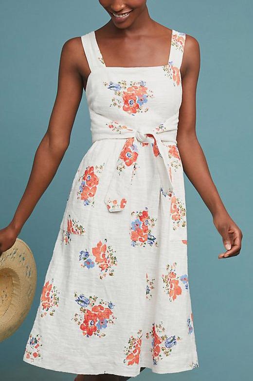 Ingalls Tie-Waist Dress