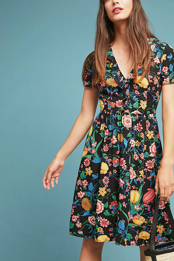 Bloedel Floral Dress