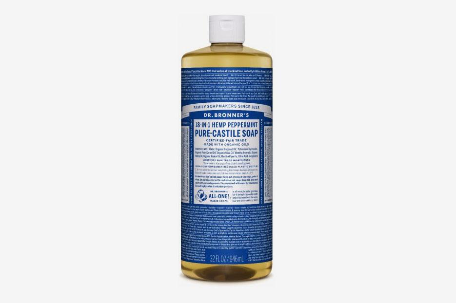 Dr. Bronner's Peppermint Pure-Castile Liquid Soap