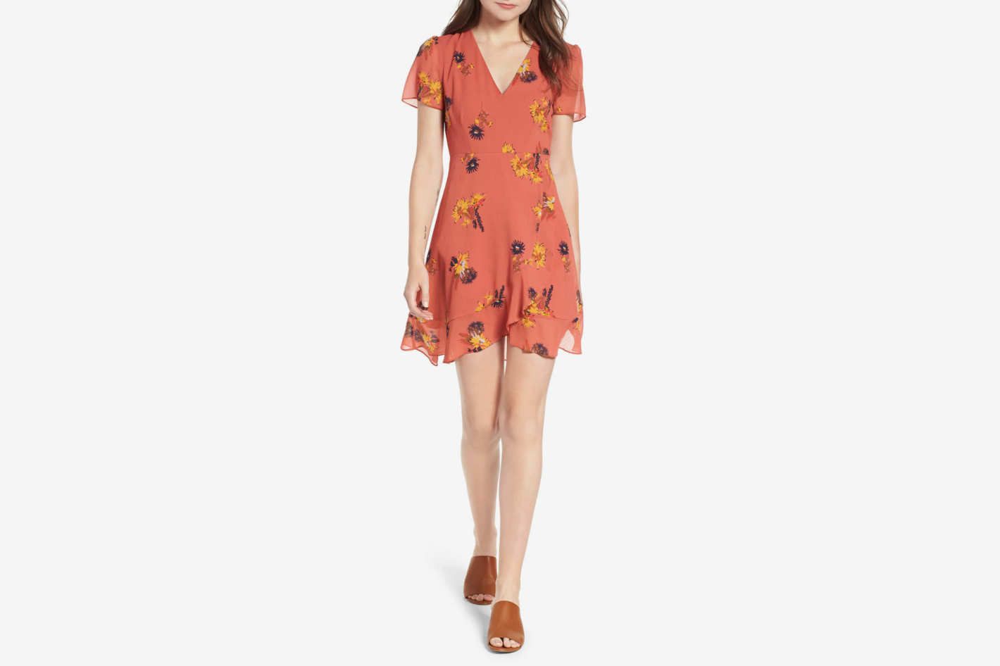 Madewell Posy Cactus Flower Dress