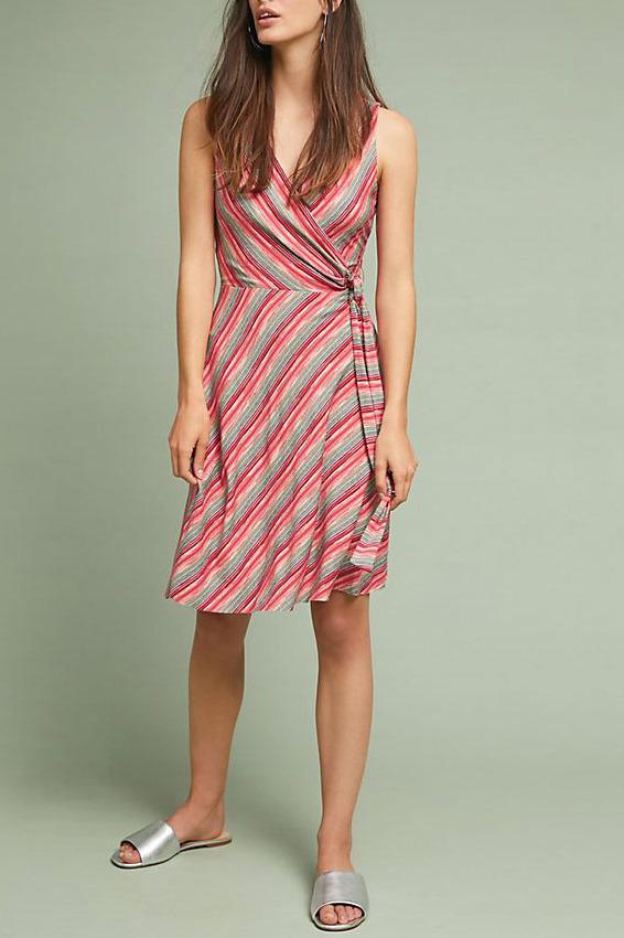 Emile Wrap Dress