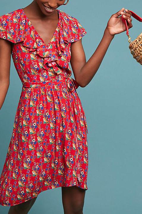 Rosalia Wrap Dress