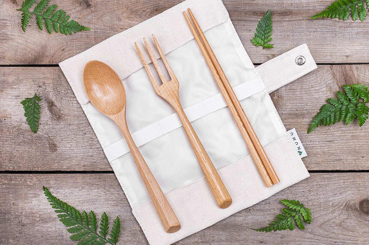 NUMU Wooden Cutlery Set