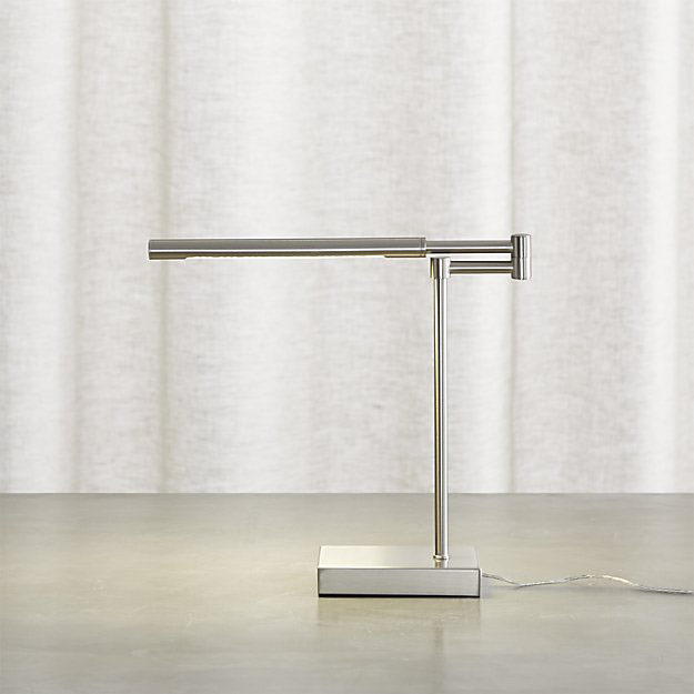 Crate & Barrel Sterling Desk Lamp