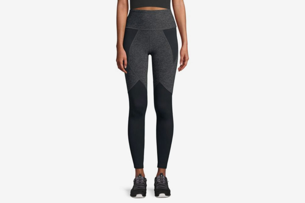 Beyond Yoga Paneled High-Waist Compression Leggings