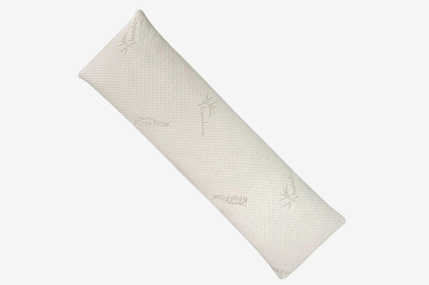 Snuggle-Pedic Ultra-Luxury Bamboo Combination Shredded Memory Foam Full Body Pillow