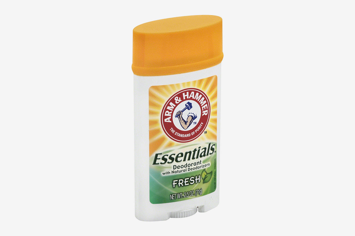 Arm and Hammer 2.5 oz. Essentials Deodorant With Natural Deodorizers in Fresh