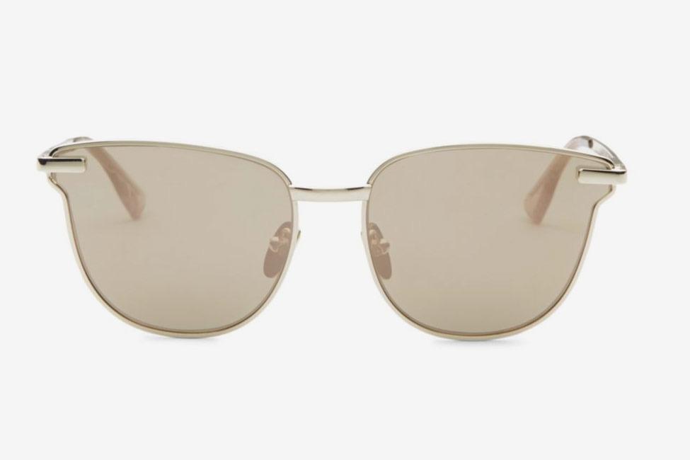 Le Specs Luxe 60MM Pharaoh Cat Eye Sunglasses
