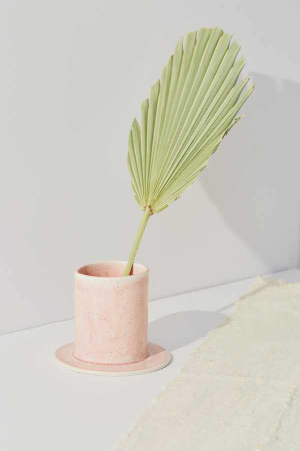 SIN Pink Handmade Well Planter
