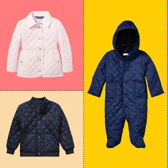eea1bb8ec A Bunch of Ralph Lauren Quilted Coats and Vests for Kids for 30 Percent Off