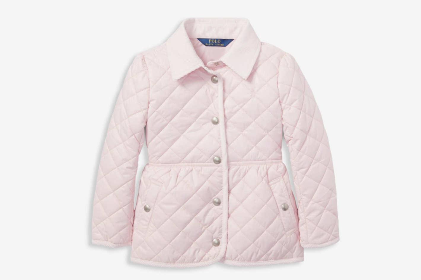 Ralph Lauren Little Girl's & Girl's Quilted Jacket