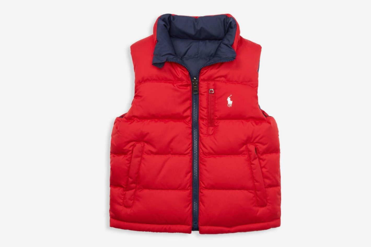 Ralph Lauren Little Boy's & Boy's El Cap Quilted Reversible Vest