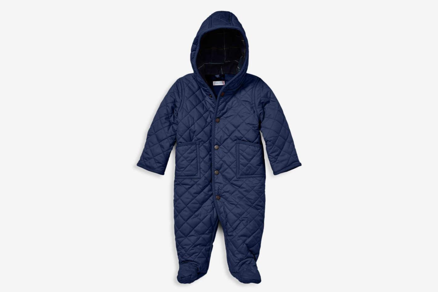 Ralph Lauren Baby Boy's Barn Bunting Snowsuit