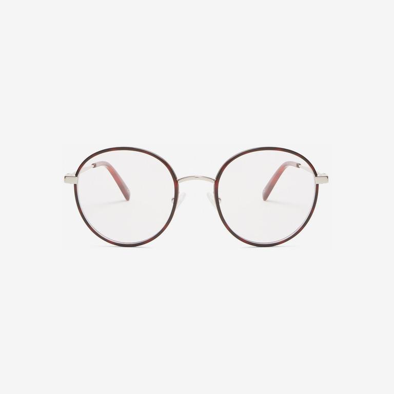 Stella McCartney Round-Frame Metal Glasses