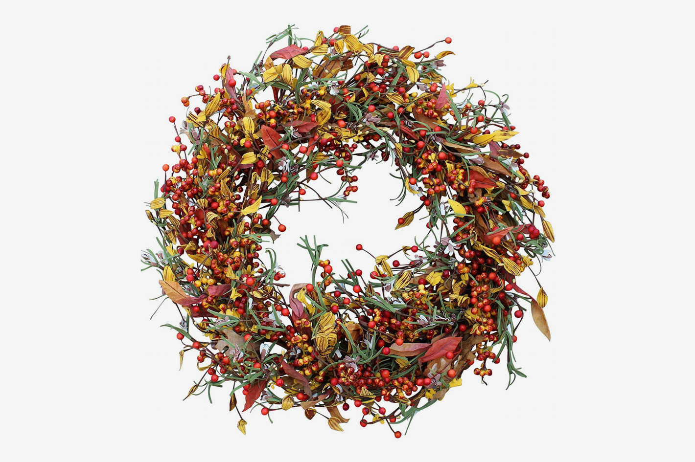 The Wreath Depot Appalachia Berry Silk 22-Inch Wreath