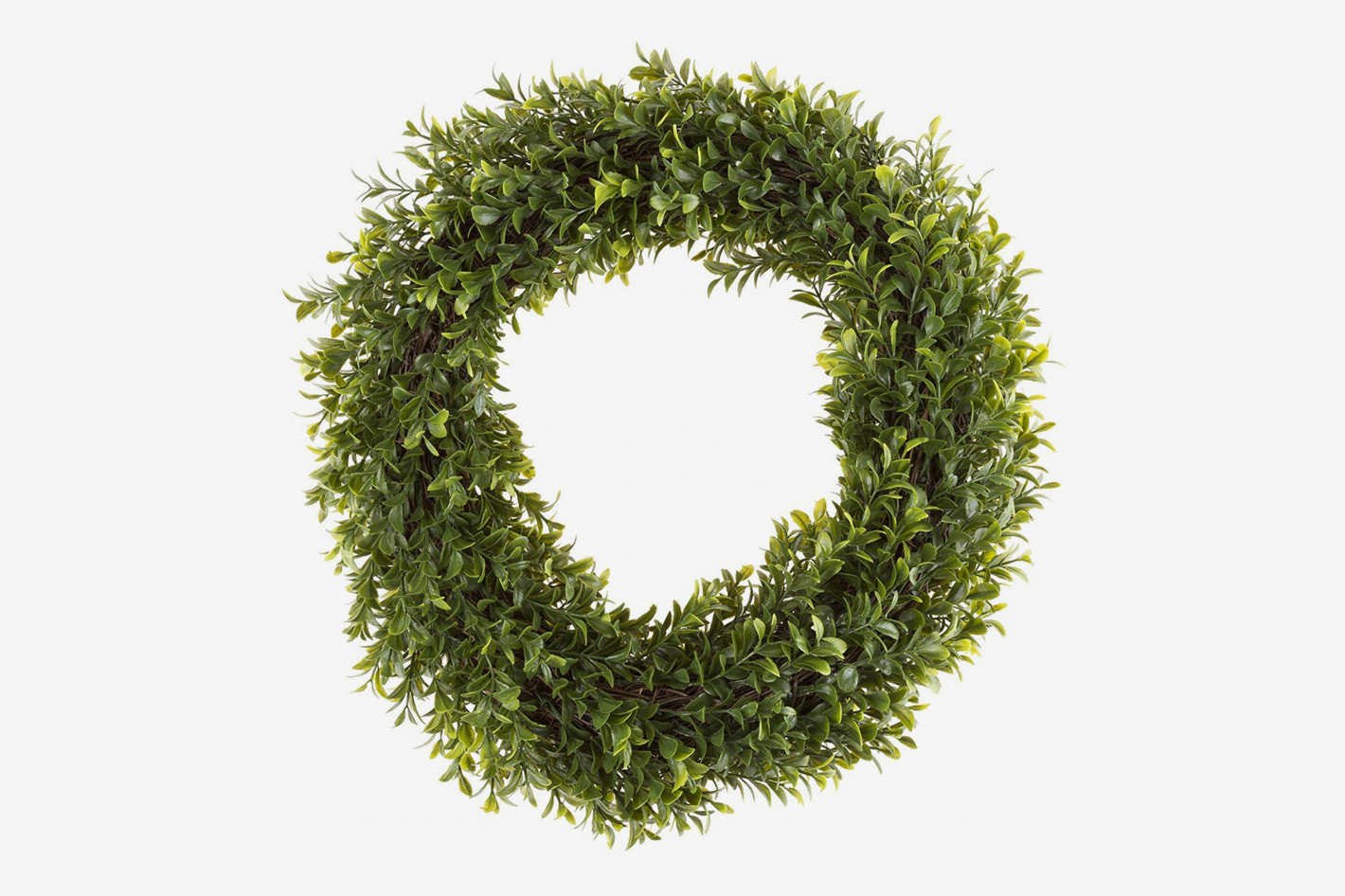 Pure Garden Round 15-Inch Wreath