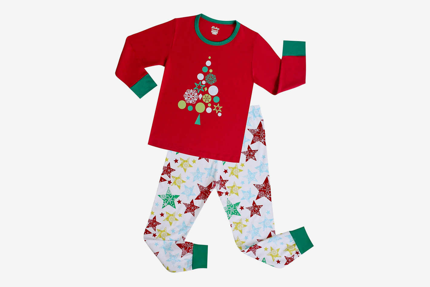 Shelry Girls Christmas Pajamas 39ded7747