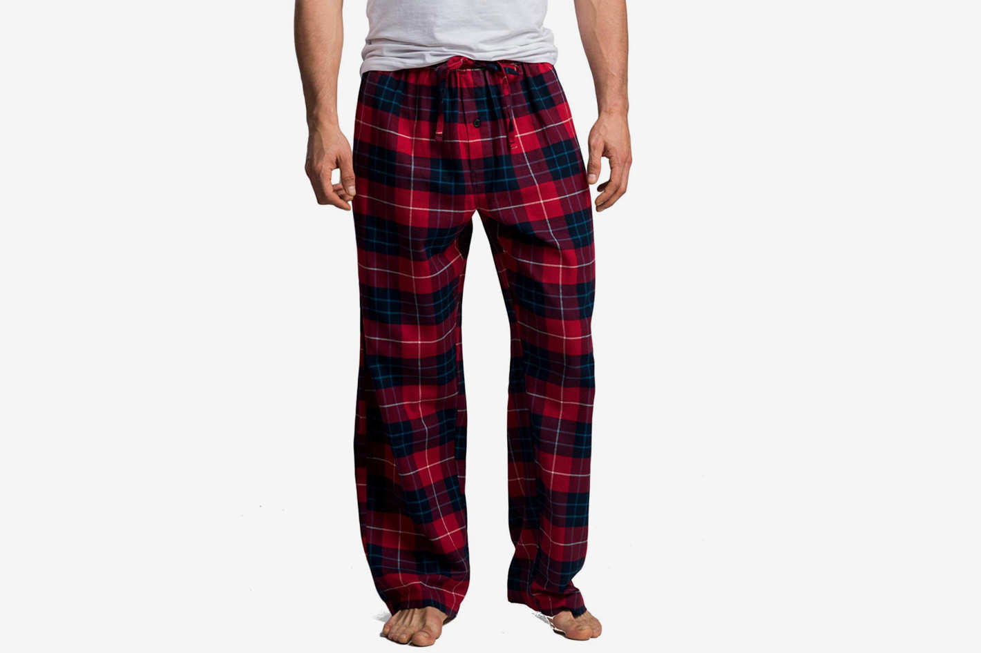 Best Christmas Pajamas for Men. CYZ Men s 100% Cotton Super Soft Flannel  Plaid Pajama Pants 6a78c97f5