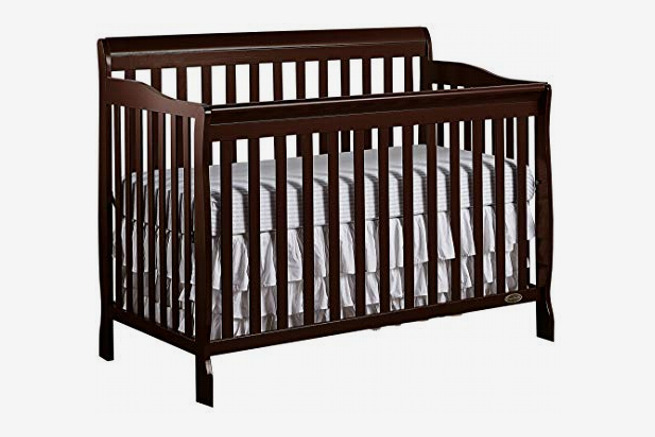 Dream On Me Ashton 5-in-1 Convertible Crib, Espresso