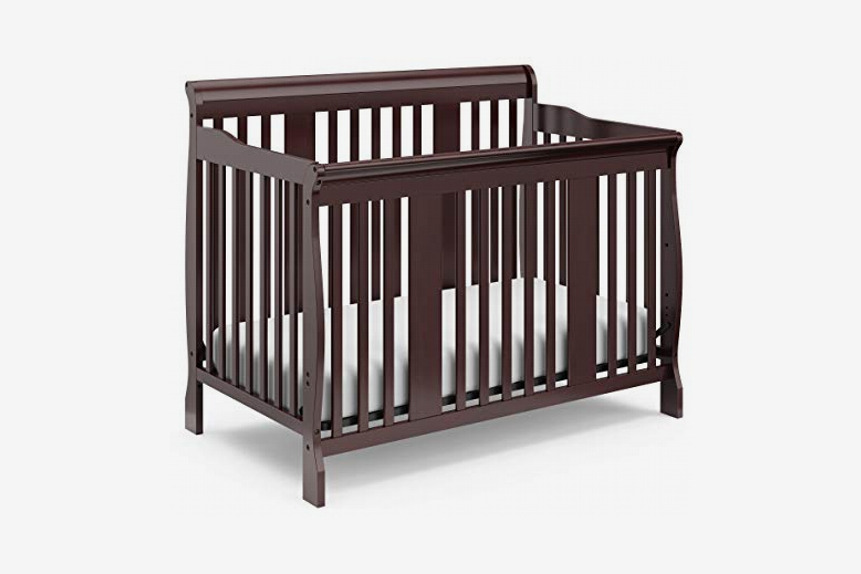 Storkcraft Tuscany 4-in-1 Convertible Crib, Espresso
