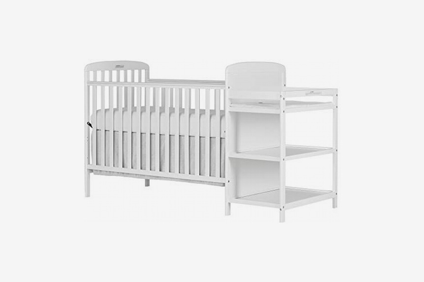 Dream On Me, Anna 4-in-1 Full Size Crib and Changing Table Combo