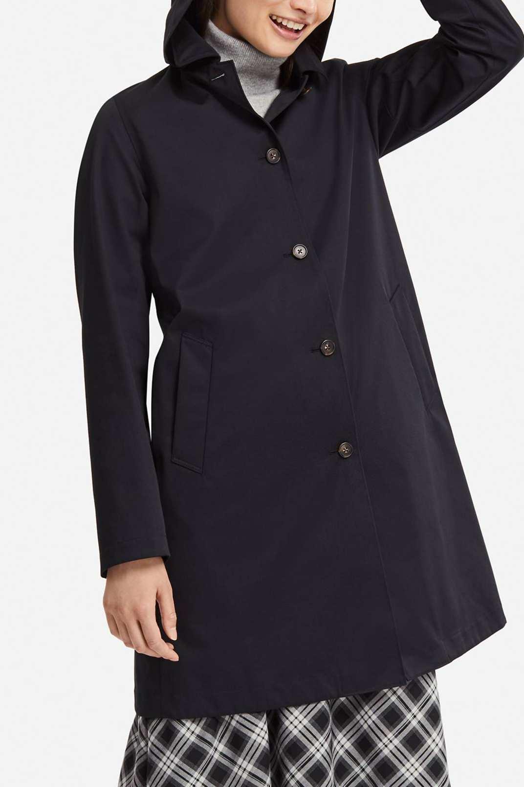 Uniqlo Women's Blocktech Soutien Collar Coat
