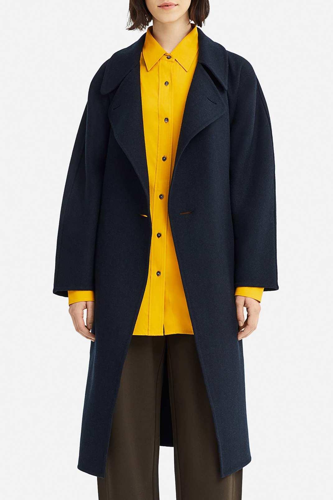 Uniqlo Women's U Double Face Wrap Coat