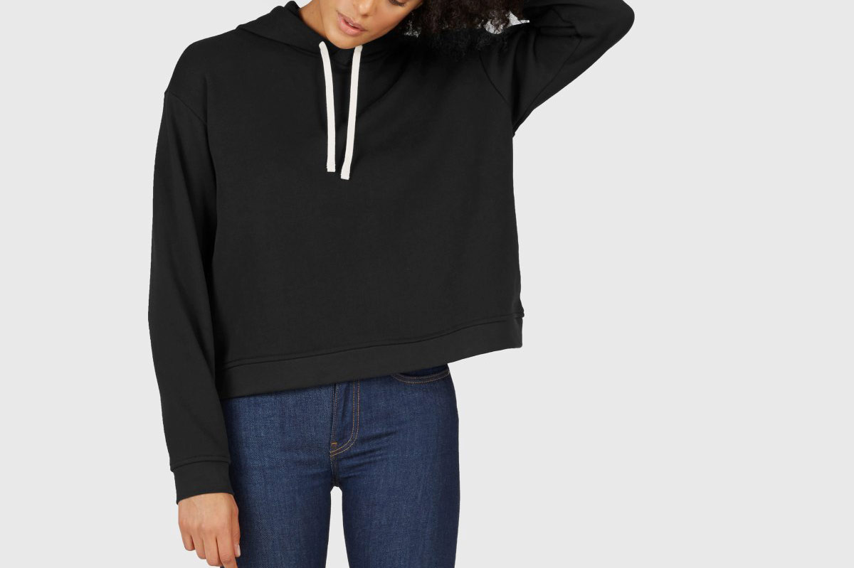 Everlane Classic French Terry Square Hoodie